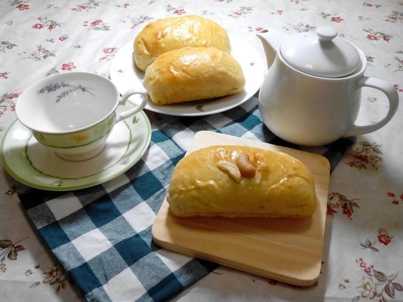 肉脯芋頭麵包(免揉)