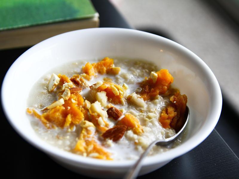 地瓜燕麥粥