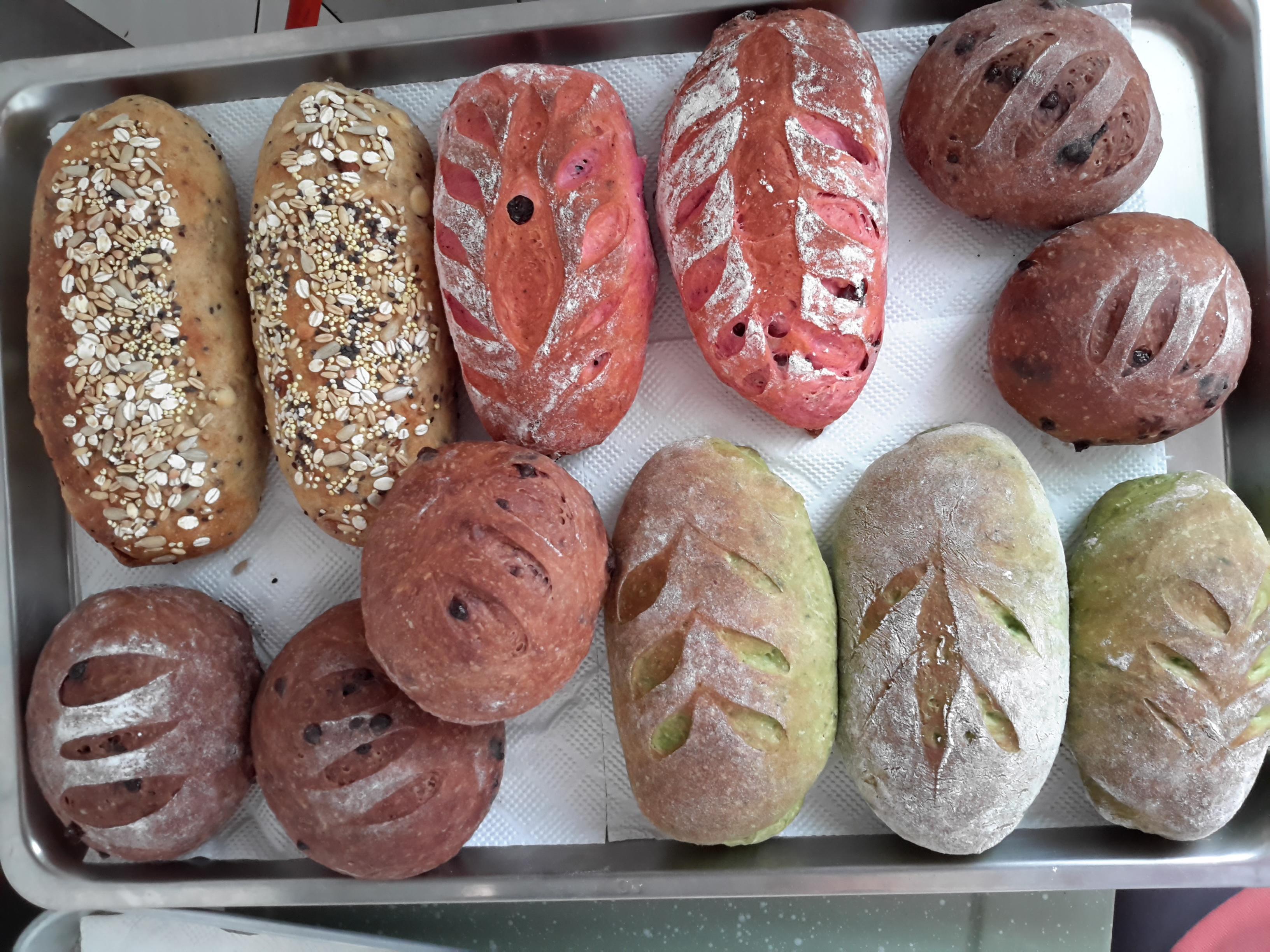 歐式麵包(免揉)