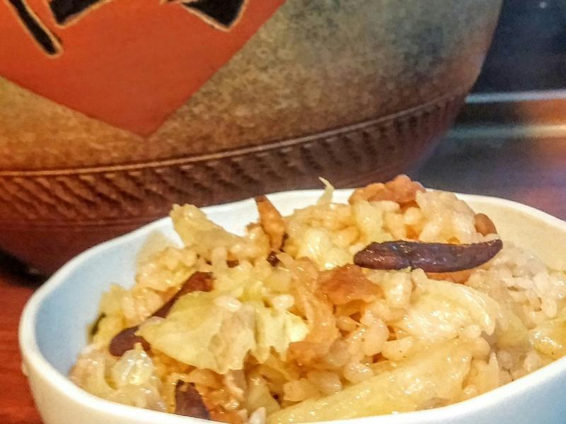 【味道福爾摩莎】黑蒜高麗菜飯