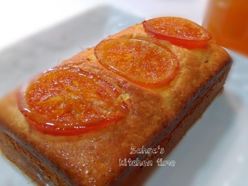 蜜橙磅蛋糕