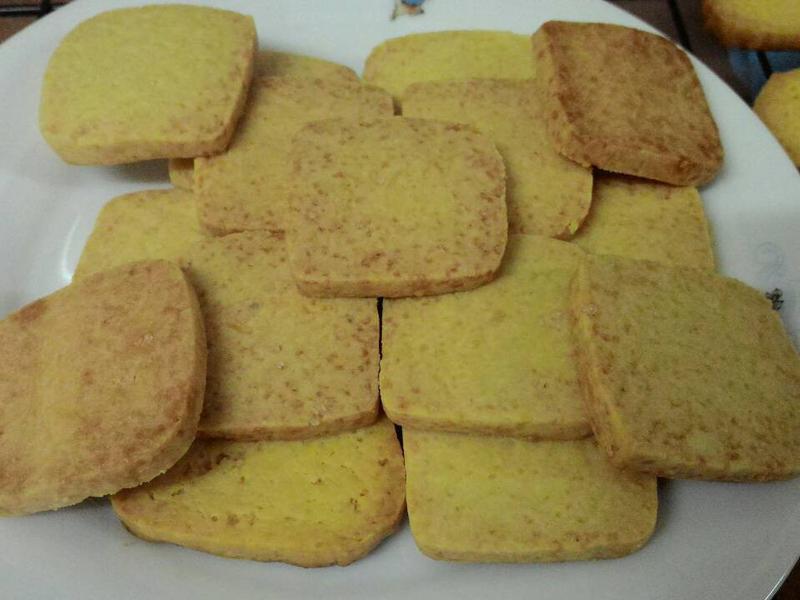 香草奶油餅