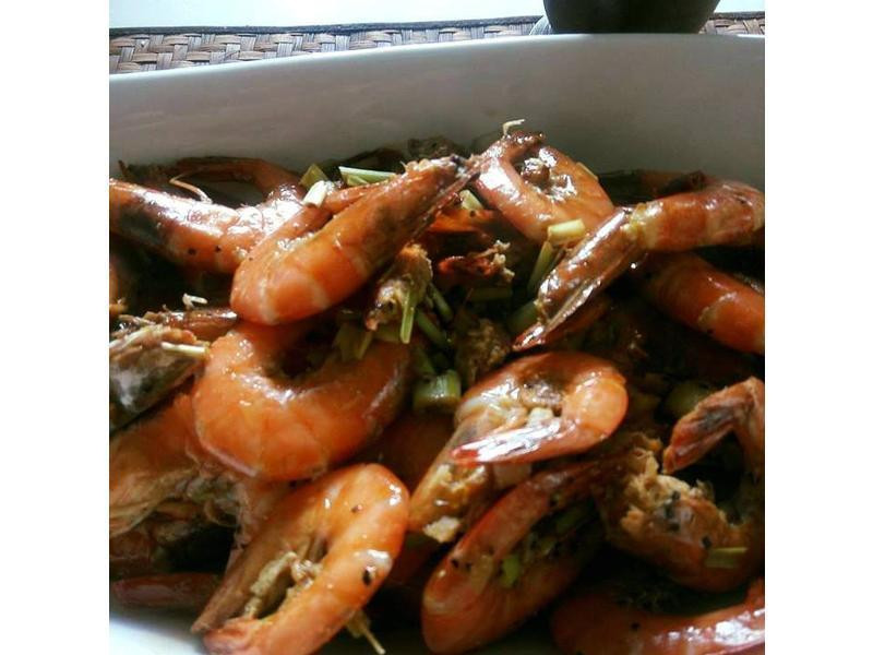 泰式香茅蝦