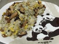 九層塔香菇炒飯