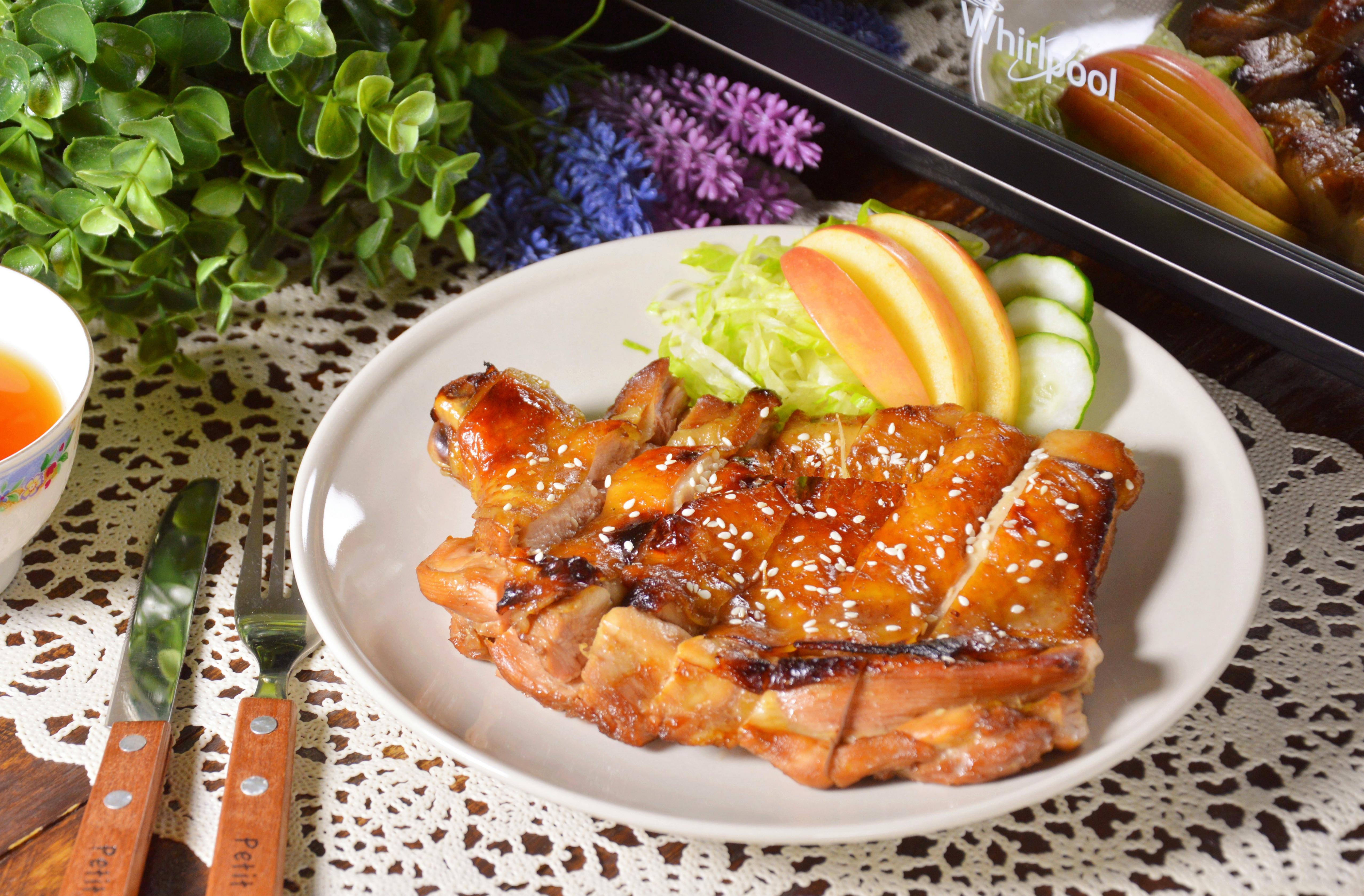 蜜汁雞腿排【健康煮易】