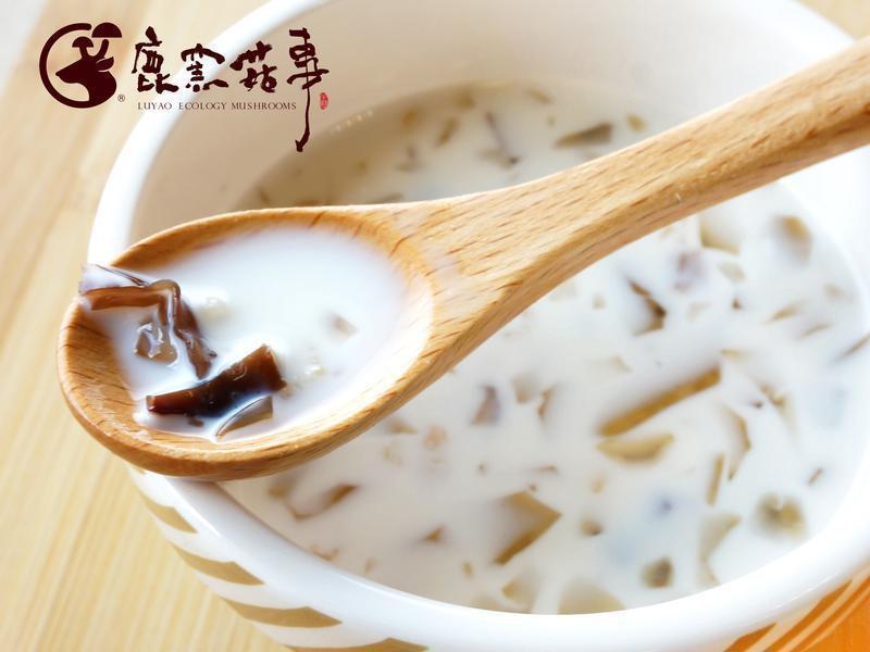 【鹿窯菇事】桂圓木耳愛玉鮮奶飲