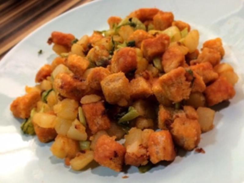 創意料理 | 茄汁蔬菜丁