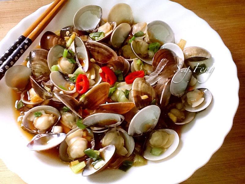 醬汁蒸蛤蠣寬粉