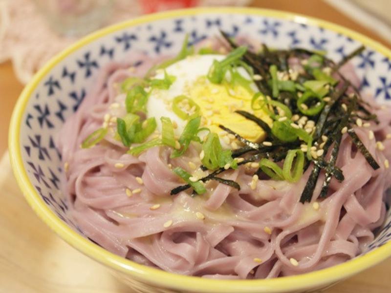 味噌海苔拌地瓜麵 - 和風味十足!!