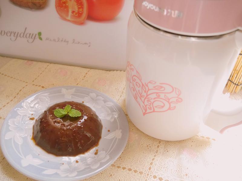 孕媽咪甜品‧黑糖豆泥晶凍_九陽營養奇機