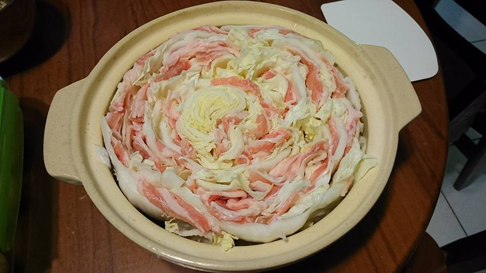 千層白菜鍋(花朵鍋)簡單做