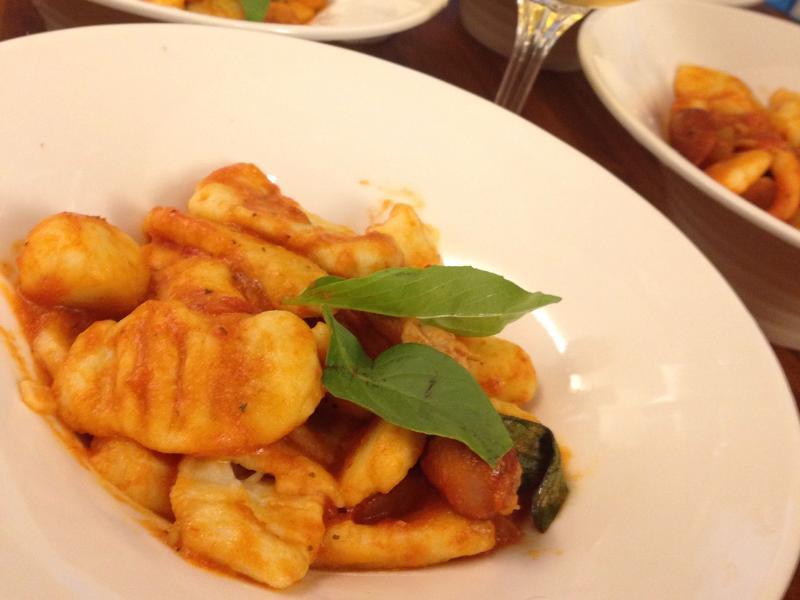 基本蕃茄義式麵疙瘩 gnocchi