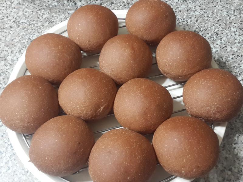摩登巧克力豆豆餐包(國際牌-2000T)