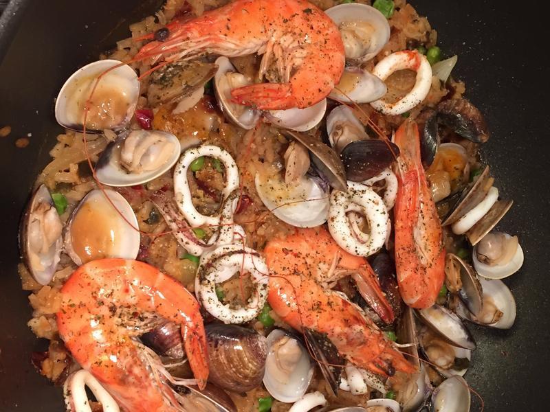 🎀西班牙海鮮燉飯🎀