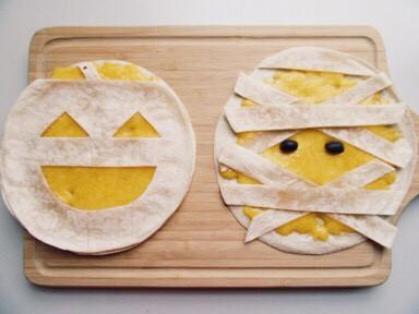 【萬聖節】起司玉米餅quesadilla