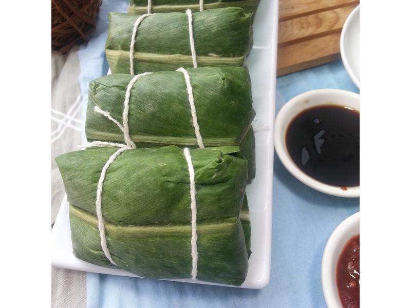 干貝蟹黃野薑花粽