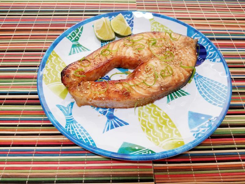 香烤味噌鮭魚