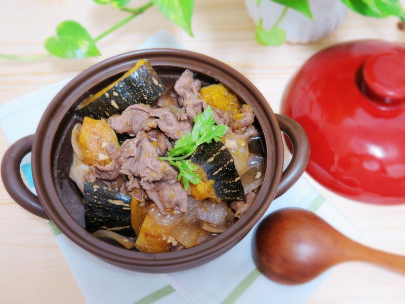[大同電鍋] 南瓜燒肉