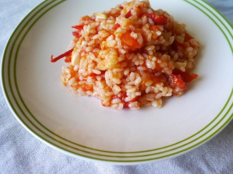 超簡單美味∣番茄燉飯