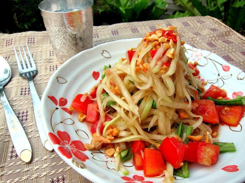 泰式涼拌青木瓜