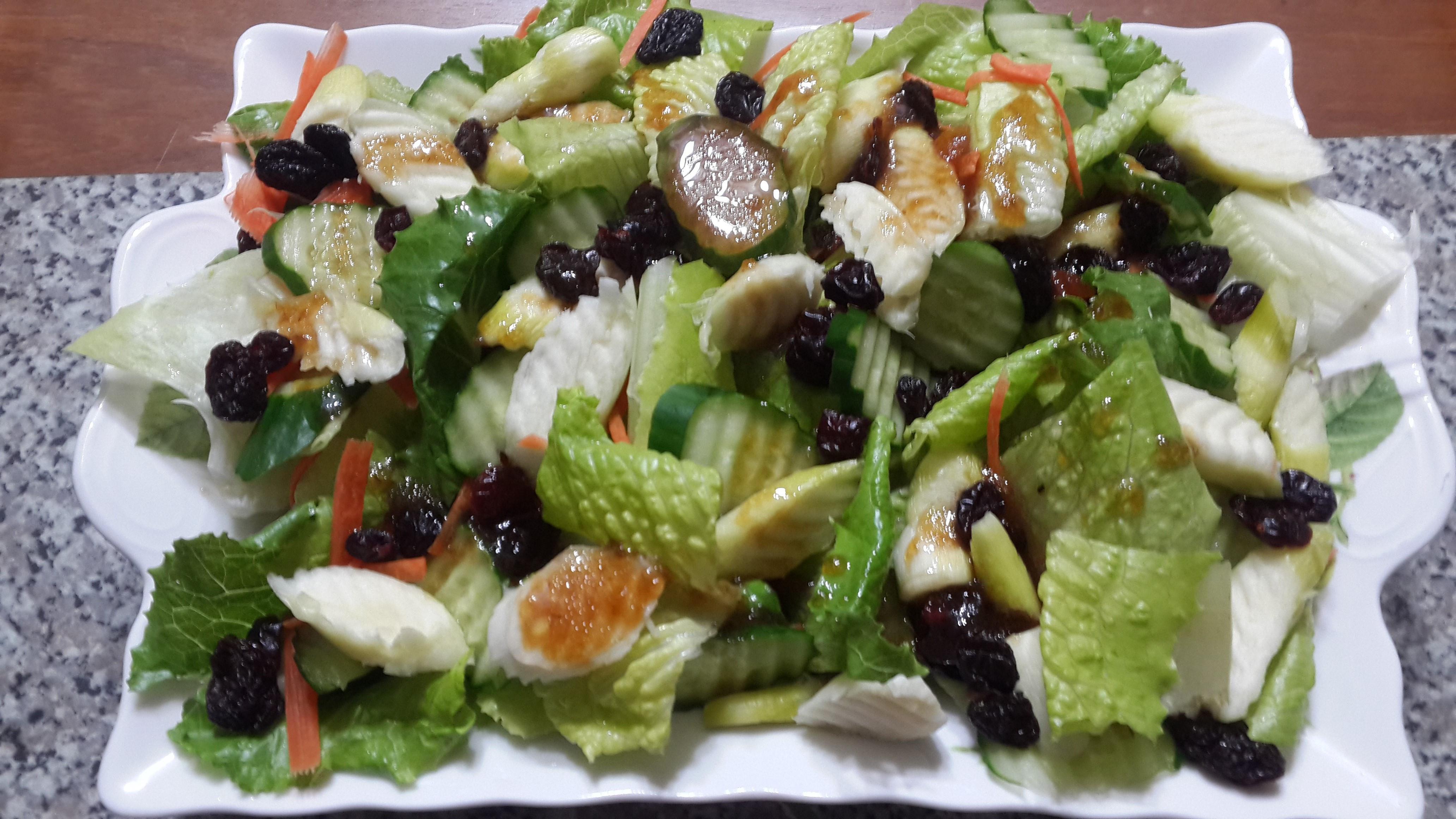 筊白筍蘿蔓生菜沙拉~