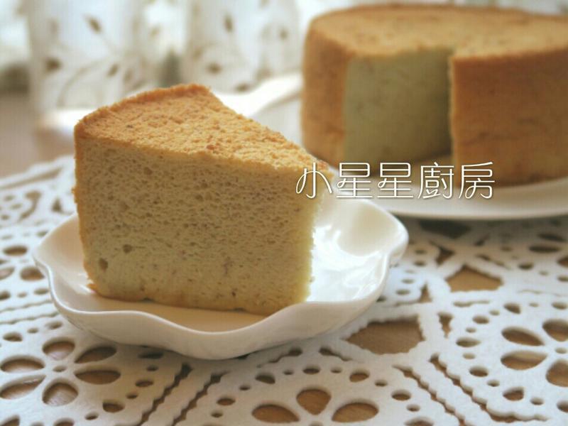 蜂蜜香蕉燙麵戚風蛋糕