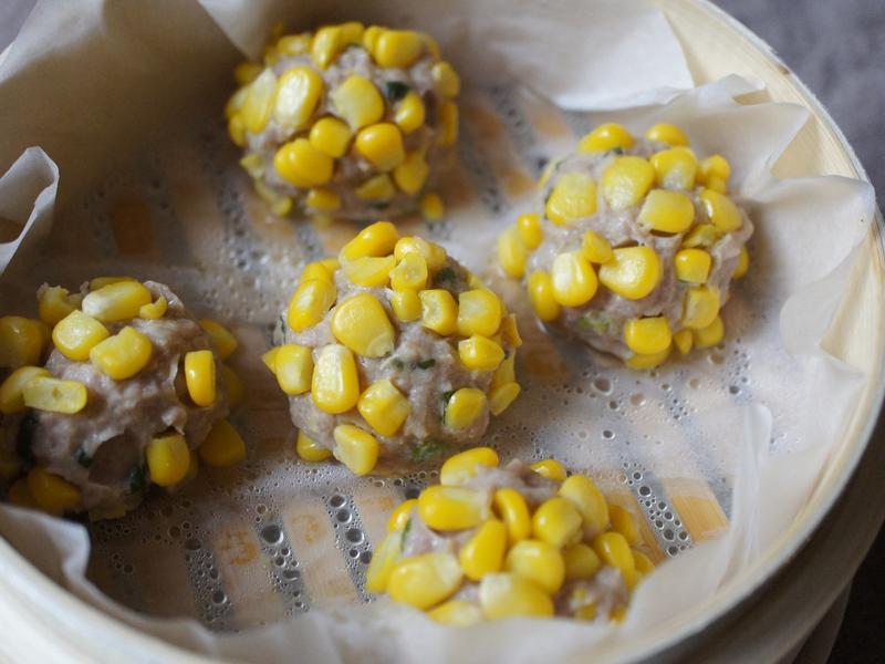 [大同電鍋] 黃金玉米肉丸