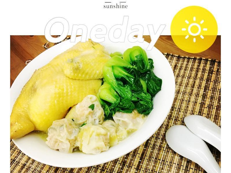 ~上海菜~砂鍋雲呑雞