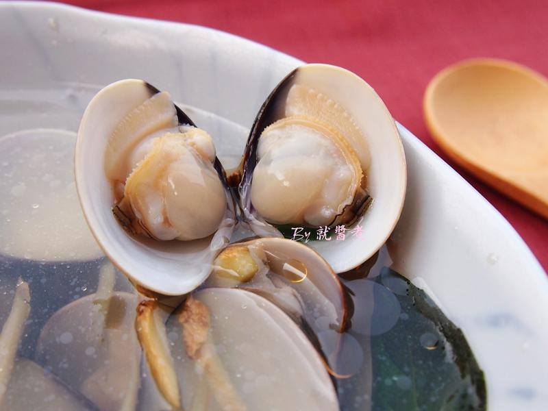 薑絲蛤蜊湯-紅標純米料理米酒