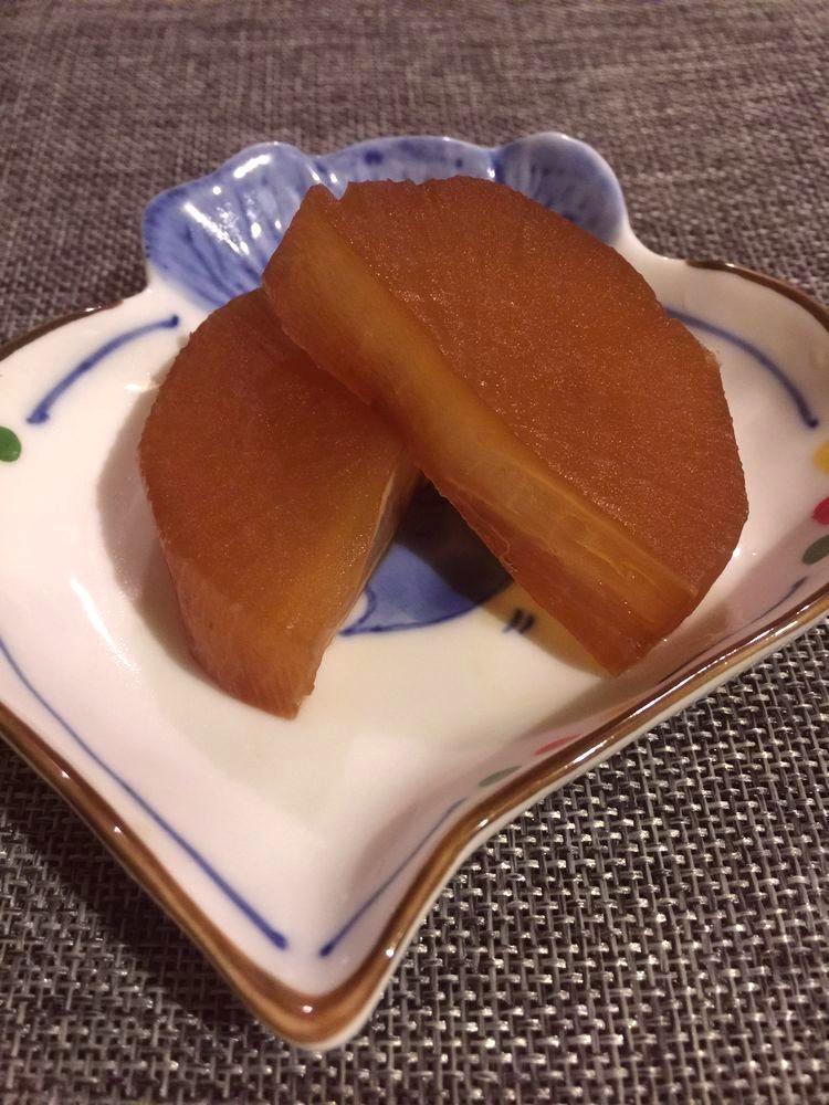 大根煮(還有白蘿蔔去苦方法!)