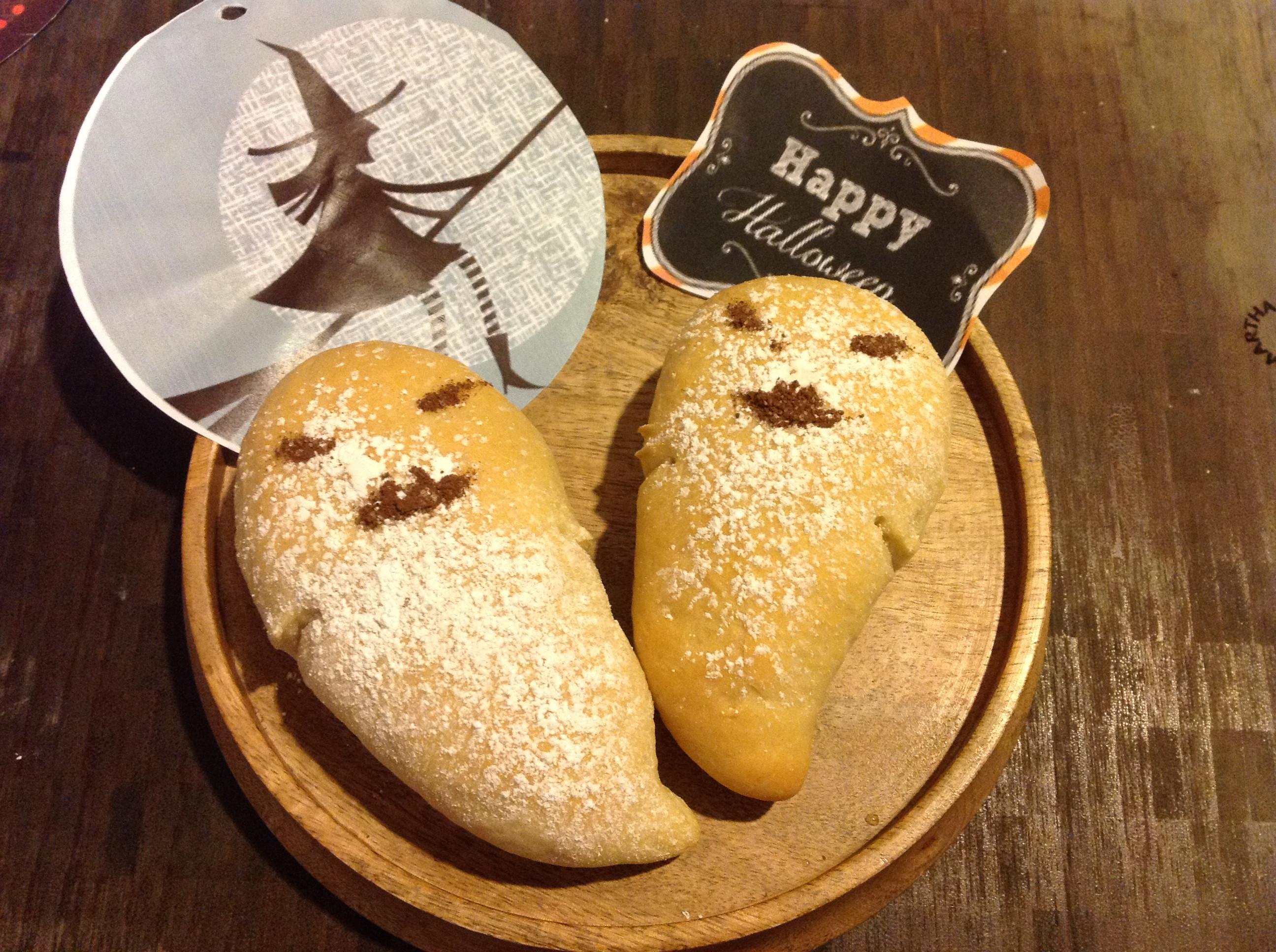 Ghost Bread-萬聖節幽靈鬼麵包