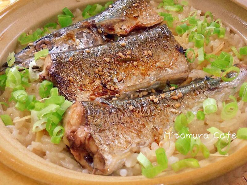 秋刀魚砂鍋飯