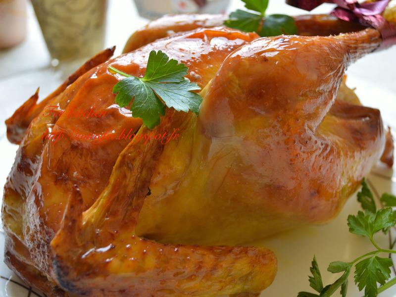 黃金脆皮~茴香烤糯米雞