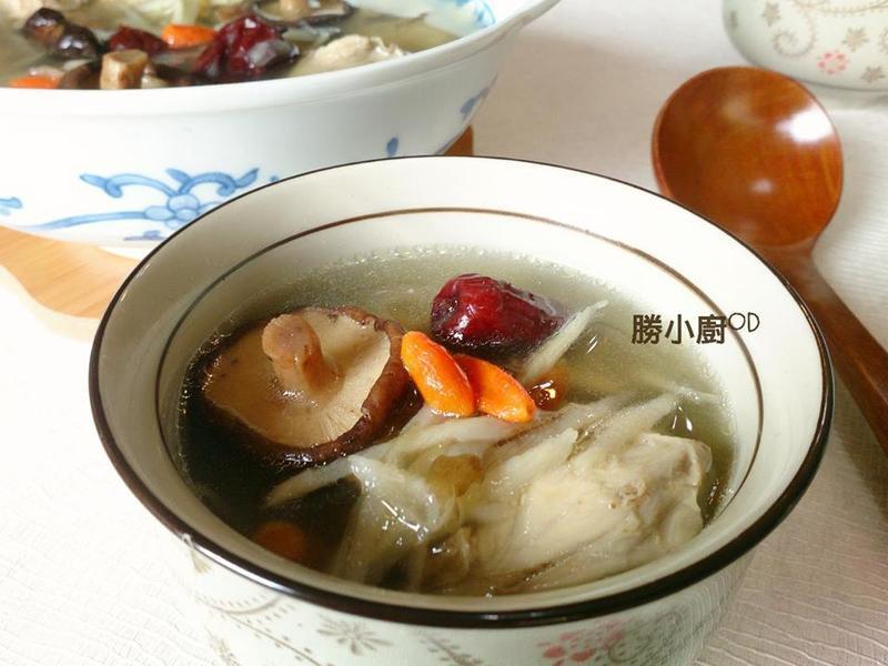 牛蒡香菇雞湯