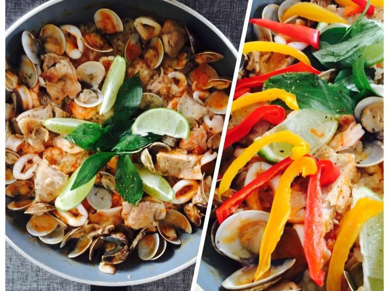 超鮮美澎湃之西班牙海鮮燉飯