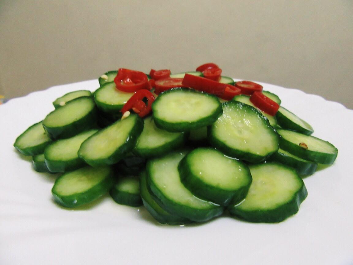 涼拌小黃瓜「家樂福廚神大賽2015」