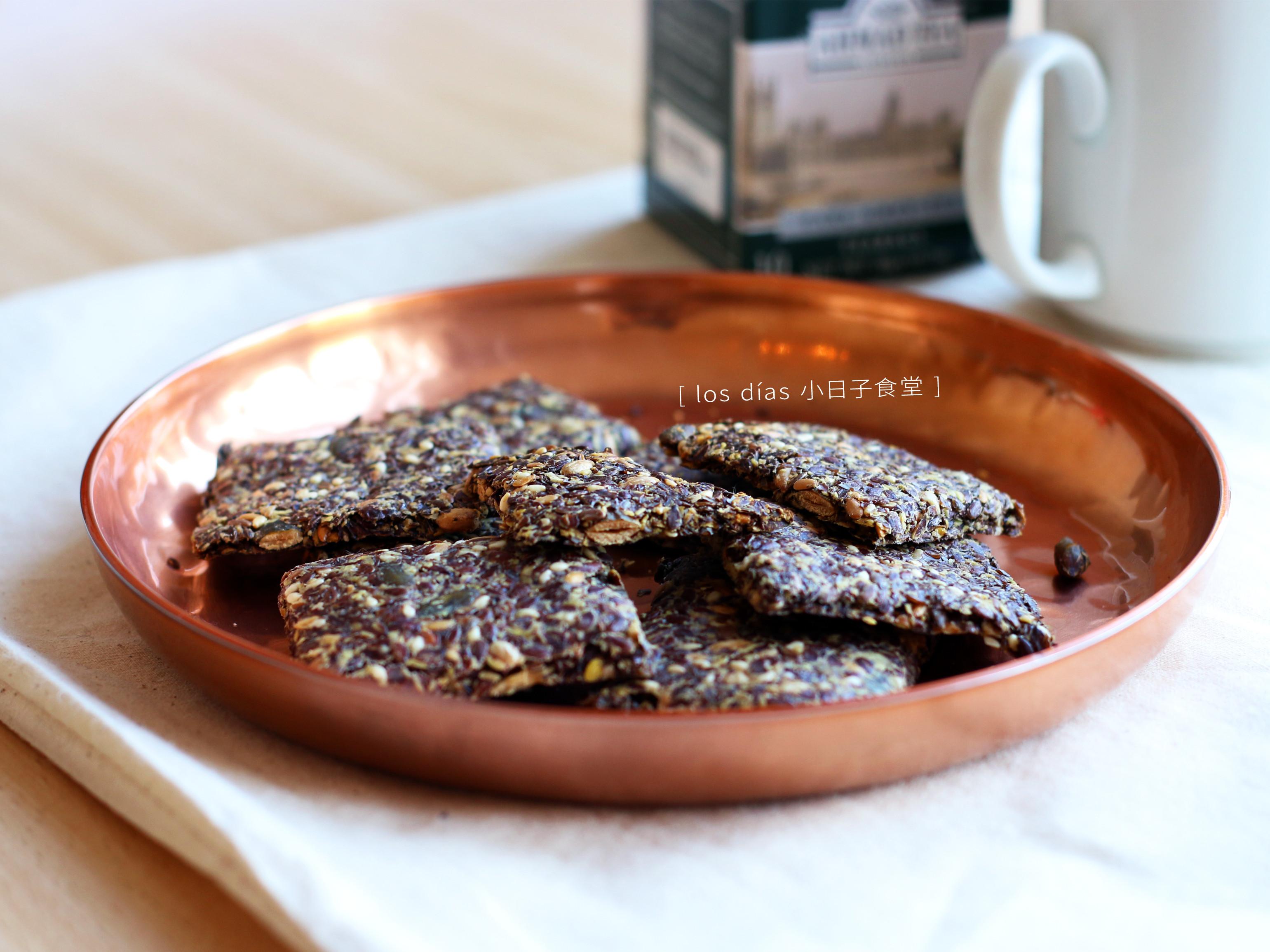 健康亞麻籽脆餅 (無油、無糖、無粉)