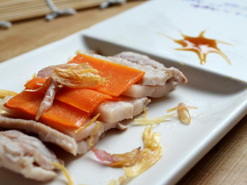 寶螺饗家常--香蔥白肉