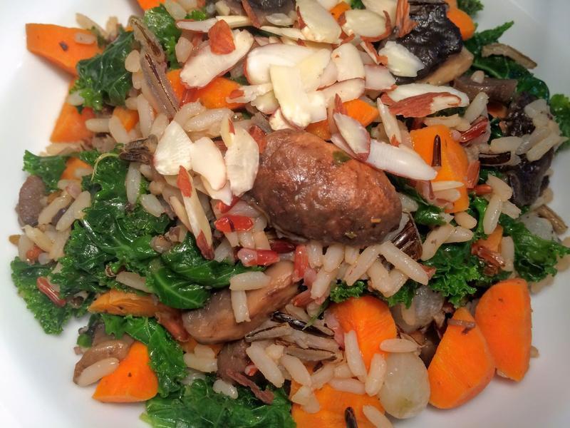 蔬菜香料飯 Rice Pilaf