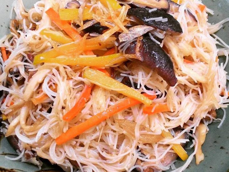 寶螺一鍋煮--南瓜炒米粉
