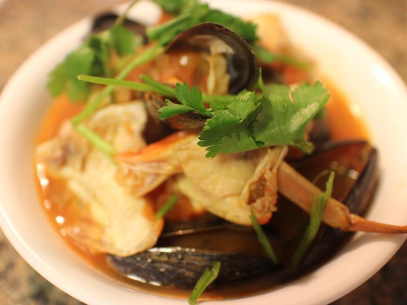 偽 西班牙海鮮湯