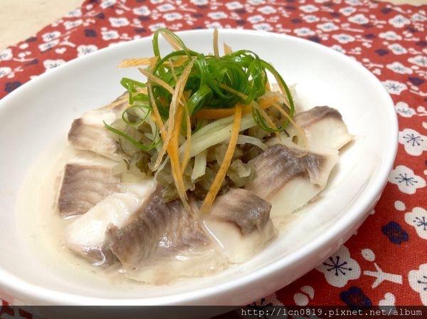 蔭仔瓜薑蒸鯛魚