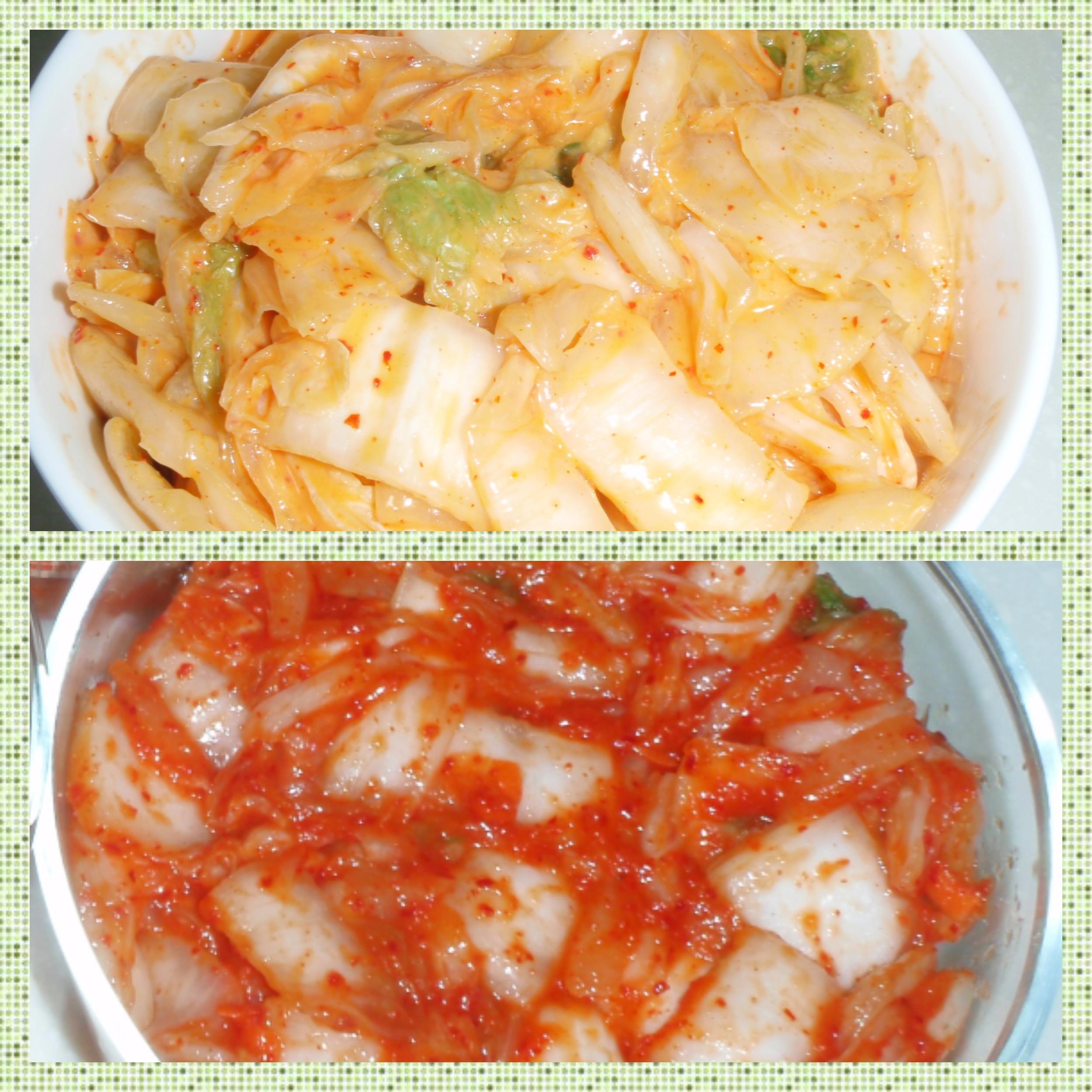 黃金泡菜 vs 韓國泡菜 韓式泡菜