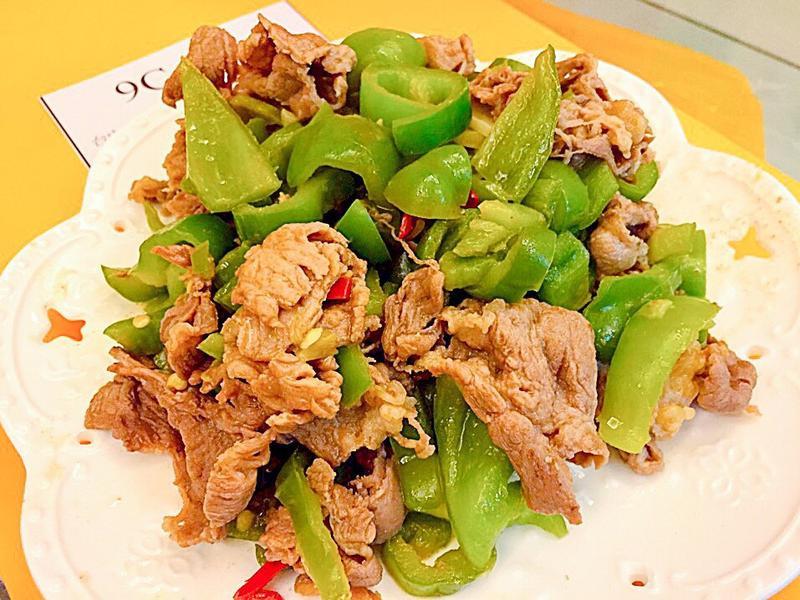 ✨青椒炒牛肉✨
