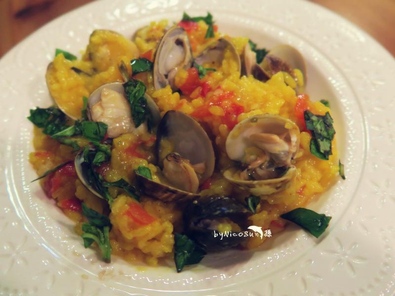 電鍋版 番茄蛤蜊燉飯