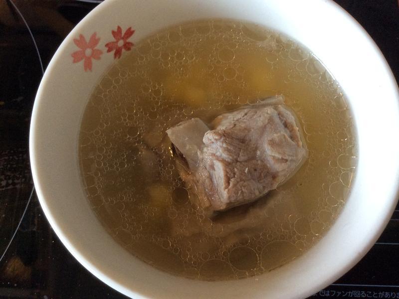 玉米排骨湯(電鍋版)