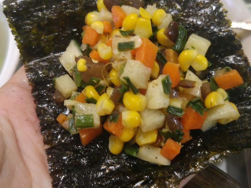 A&H幸福手做料理-高纖五行養生蔬食蝦鬆