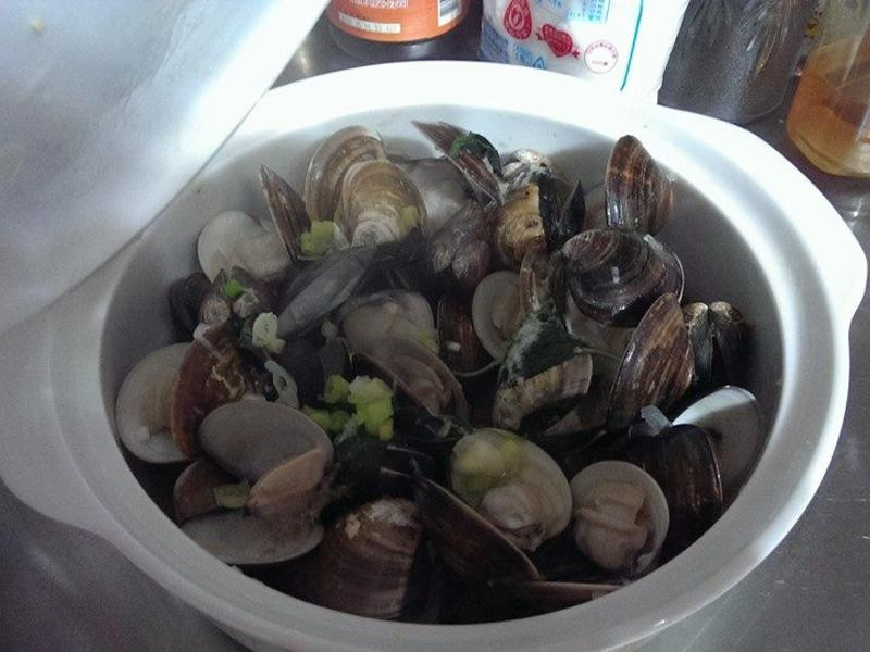 白酒蛤蠣(深夜食堂)