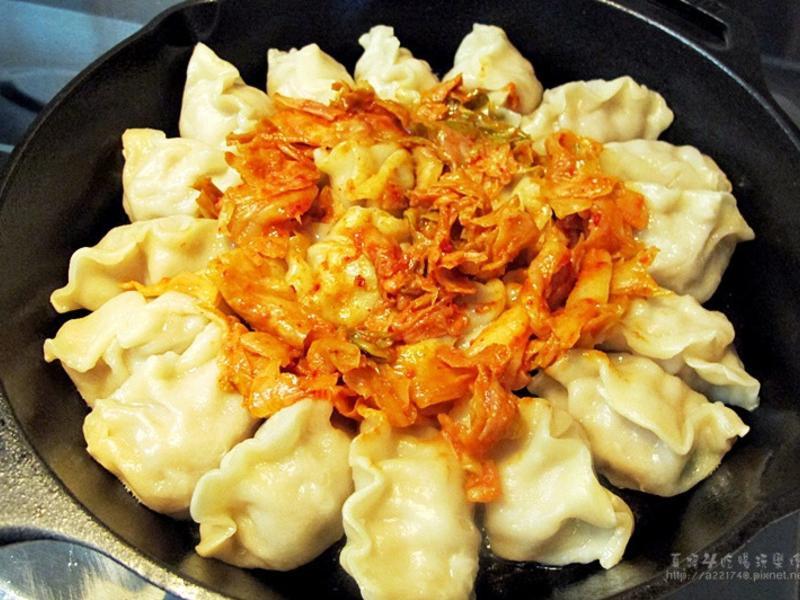 韓國泡菜煎餃