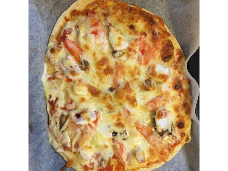 海鮮Pizza